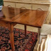tavolo rettangolare in noce nazionale allungabile realizzabile a misura classico contemporaneo