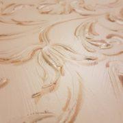 Armadio guardaroba quattro ante in legno di toulipier laccato e decorato a mano. La decorazione. Arredamento contemporaneo su misura Siena e Firenze