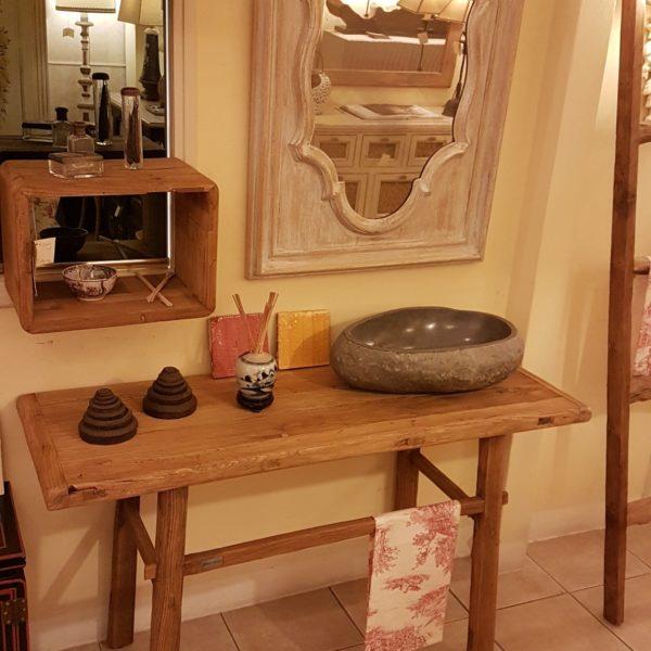 Arredamento contemporaneo mobili country su misura siena for Consolle bagno