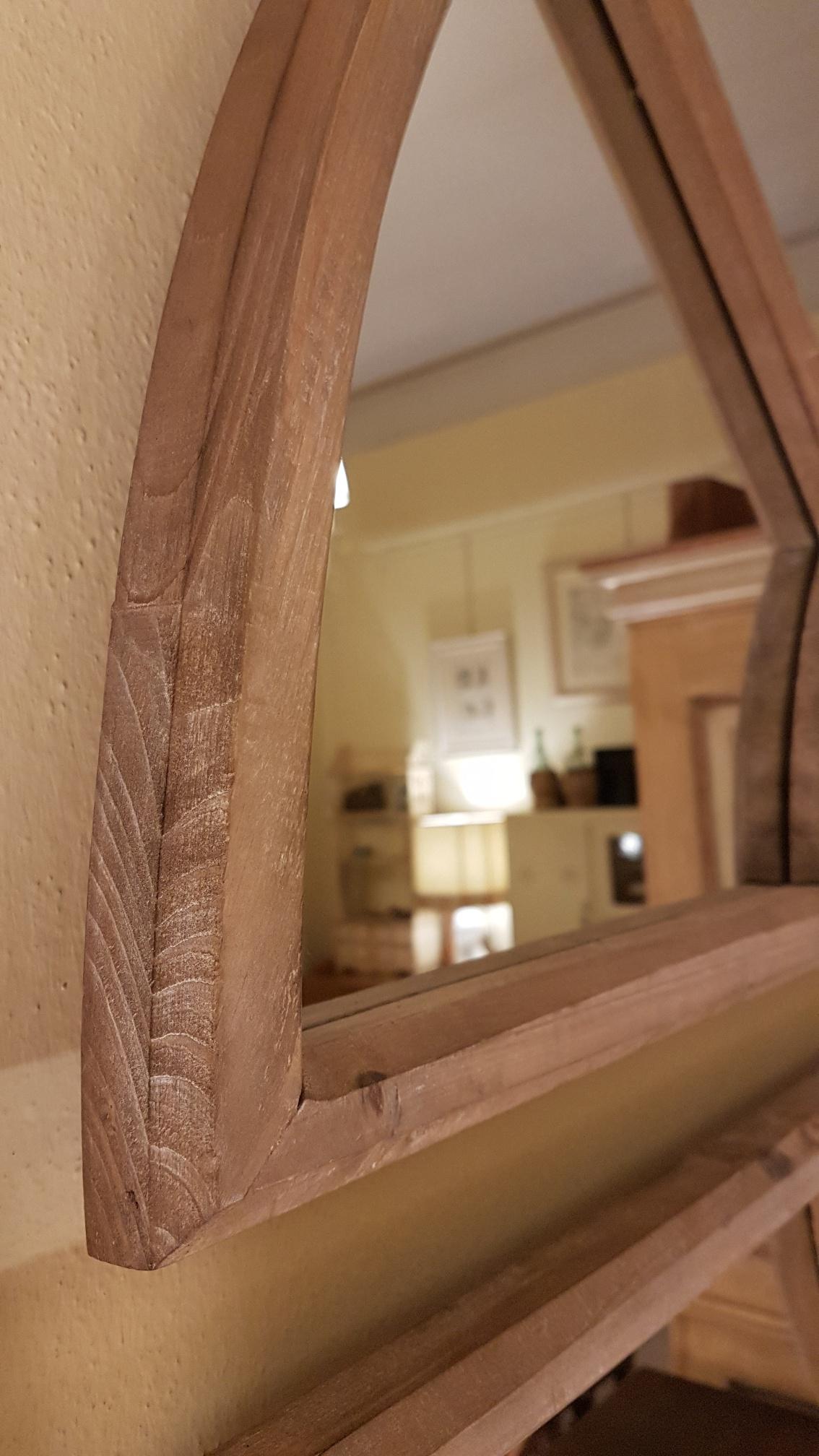 Arredamento contemporaneo mobili country su misura siena firenze specchiera vintage in legno - Mobili in legno di pino ...