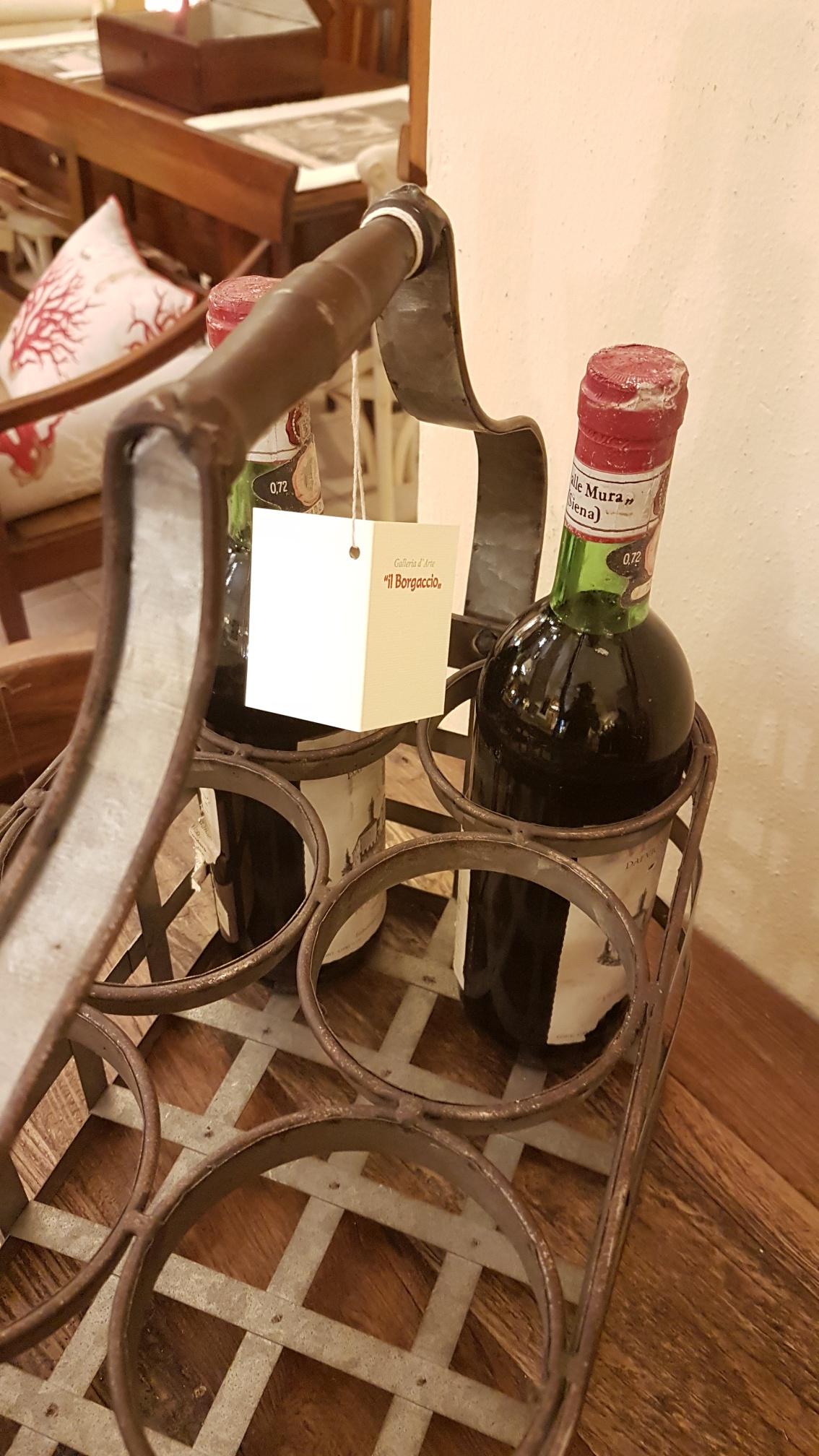 Arredamento contemporaneo mobili country su misura siena firenze porta bottiglie antico - Mobili separatori ...