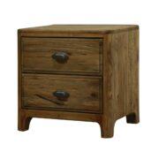 Comodino in legno di abete antico massello. Arredamento classico contemporameo Siena e Firenze.
