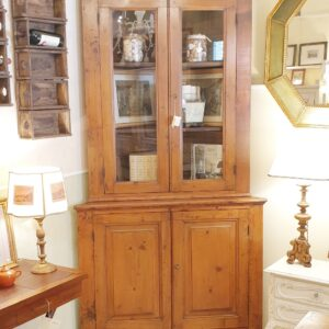 Angoliera Toscana in legno di abete metà '800. Mobili antichi Siena e Firenze